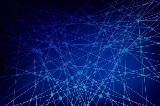 Blue network technology geometric pattern abstract background material
