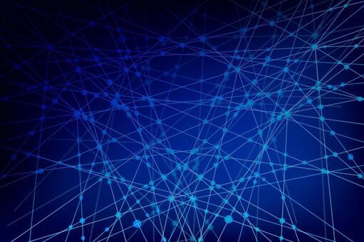 파란색 네트워크 기술 기하학적 추상 배경 소재
