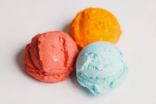 Colorful ice cream 12