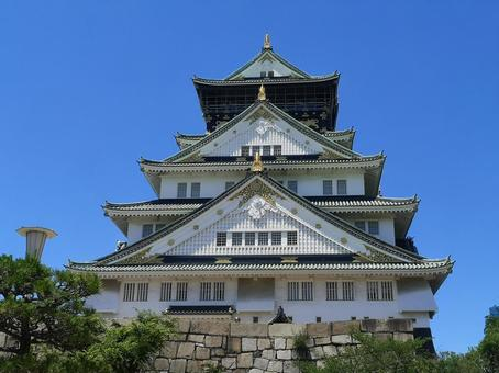 大阪城(晴れ)①