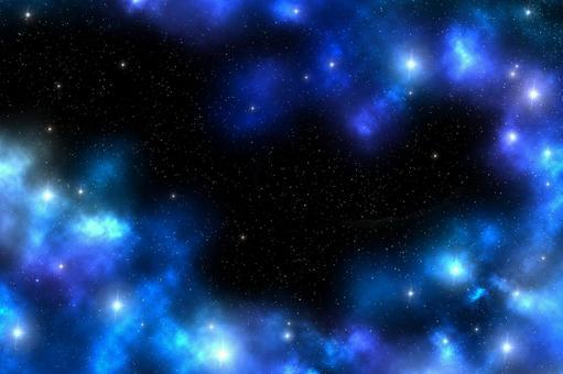 銀河藍紫色
