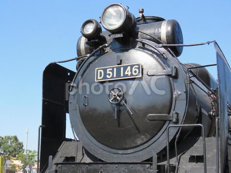 機関車の写真
