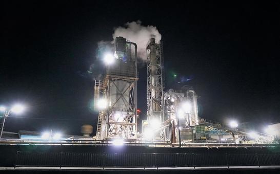 공장 야경 3