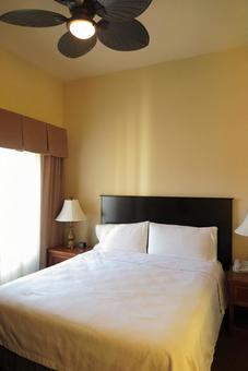 Overseas hotels, bedrooms