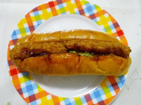 고로케 빵