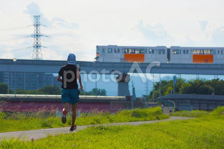 多摩モノレールのある風景2の写真