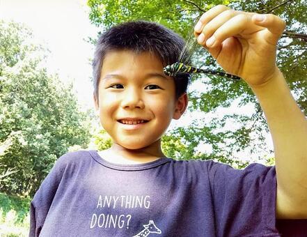 The boy who caught Oniyama