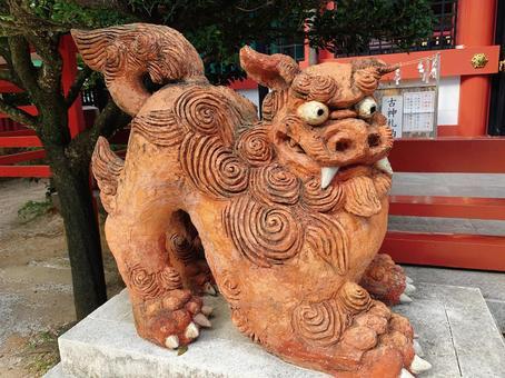 Shisa Naminoue Shrine Okinawa Shrine