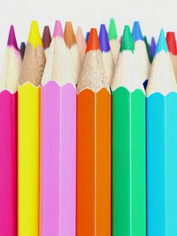 Color pencils Color pencil image material
