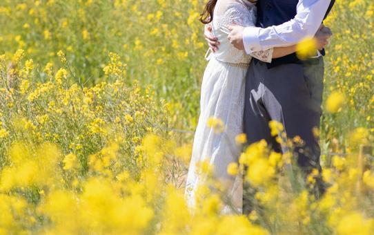 婚禮在油菜花開
