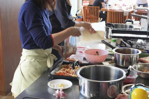 烹飪教室的風景