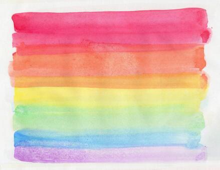 Watercolor texture (rainbow color)