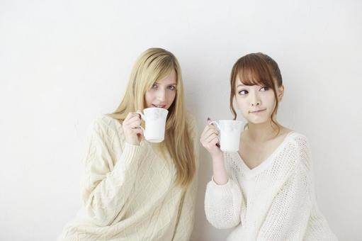 Female friend Foreigner and Japanese 22