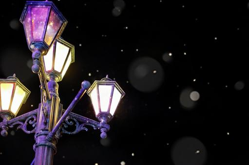 Fashionable night street lights