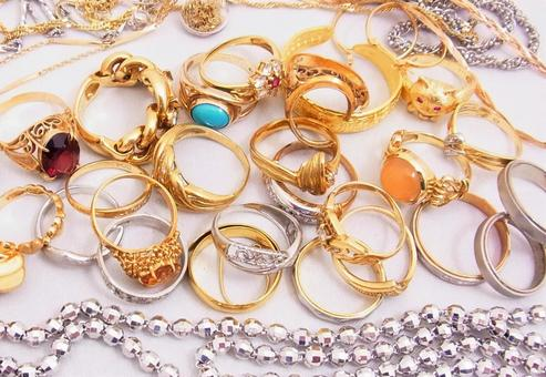 Jewelry Collection 4 Precious Metal Jewelery Image Material