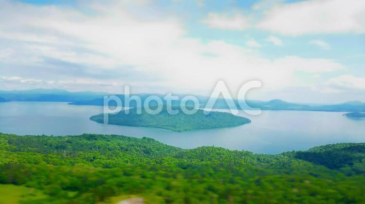屈斜路湖の写真