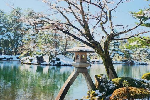 Kanrokuen of Kanazawa