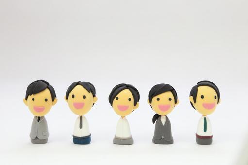 黏土艺术公司的员工1