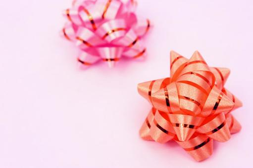 的色带带粉红色的背景2的纹理
