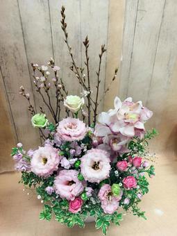 Cherry blossom arrangement