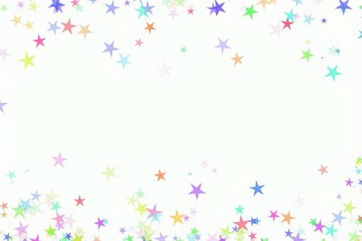 Star decoration white