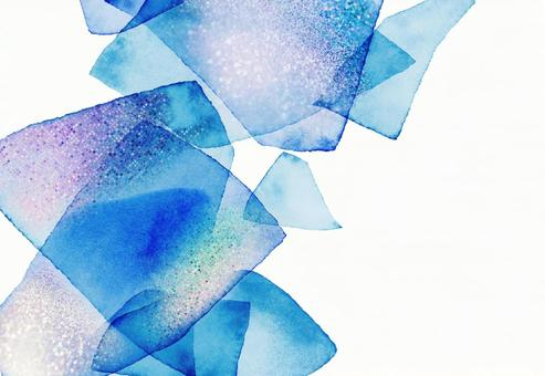Background texture watercolor glitter frame glitter blue summer