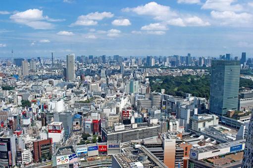 Shinjuku's Perspective View 2