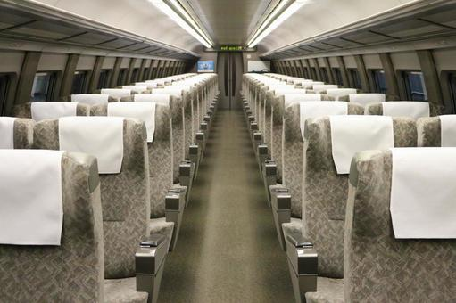 Inside the Shinkansen