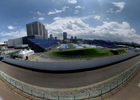 Tokyo Olympics BMX / Skateboard Venue (Ariake Urban Sports Park)