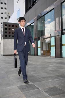 Walking businessman 1