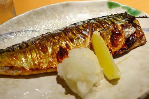 Grilled fish · Autumn sword fish