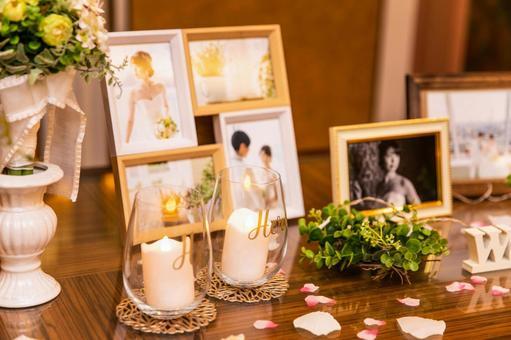 장식 결혼식 웨딩 꽃