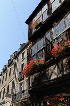 Townscape of Dinan