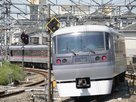 Seibu Railway Limited Express Red Arrow
