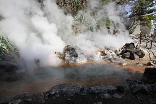 벳푸 지옥 순례 산 지옥