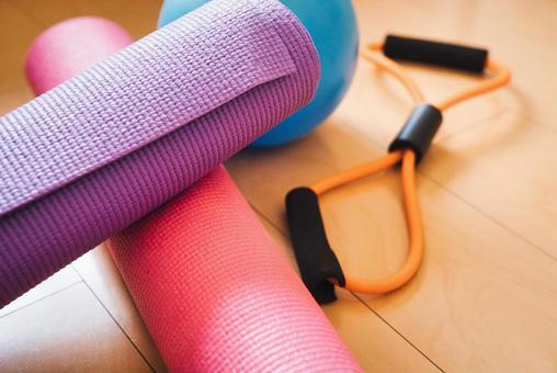 Yoga mat and equipment