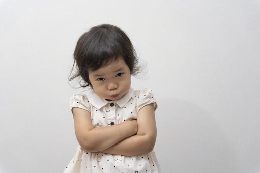 Girl gets angry
