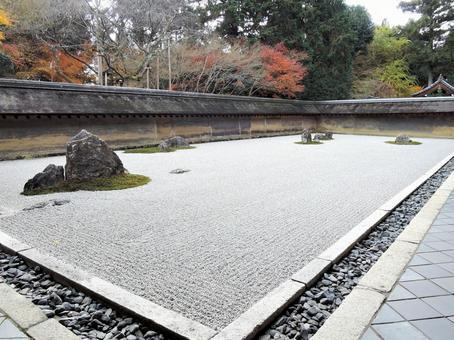 Ryoanji Temple Garden December 2