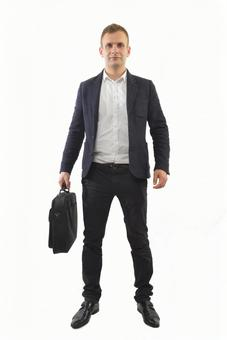 Foreign male with bag 4