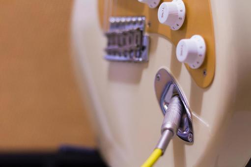 Electric guitar's jack