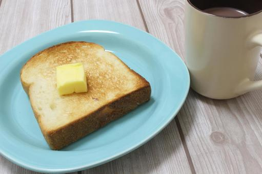 Butter toast and cocoa 2