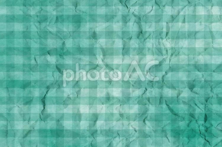 しわのある和紙 彩雲 ギンガムチェック柄 ちぢれ 凸凹 テクスチャ 41の写真