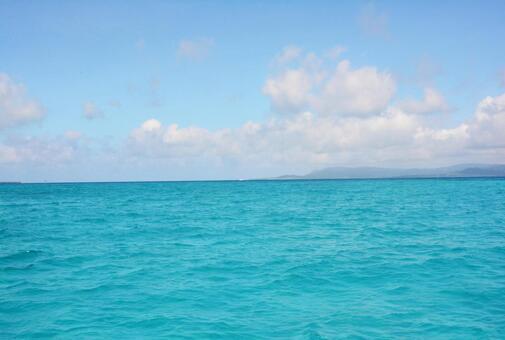 The sea of Okinawa