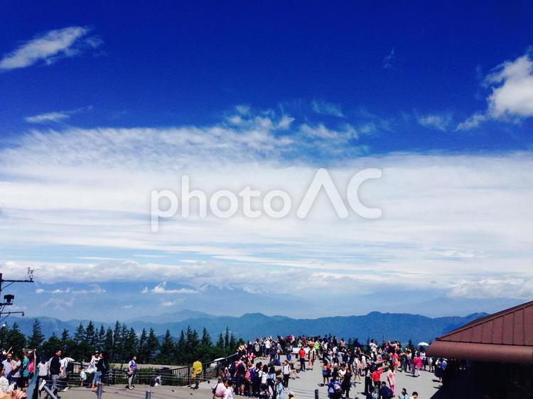 富士山5合目で撮影した風景写真の写真