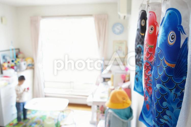 鯉のぼり2の写真