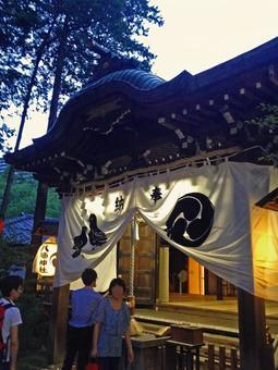 Summer festival of the shrine # 1