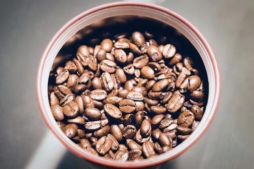 罐裝咖啡豆
