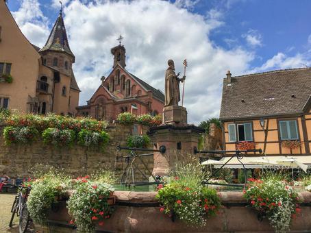 阿爾薩斯Eguisheim Village