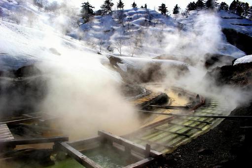 다마가와 온천 湯樋
