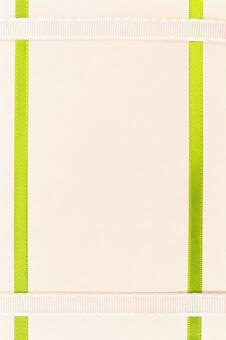 色带的质感绿丝带的框架